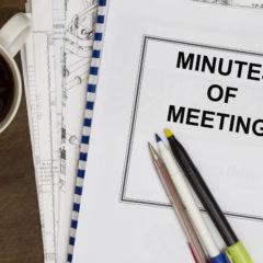 Meeting Tonight!  General Membership Meeting Minutes from 10 Jan 17